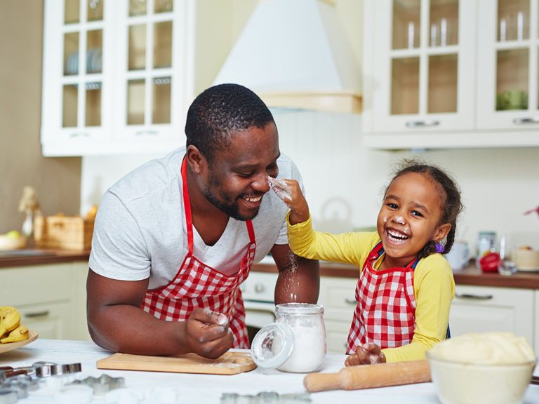 Enjoying time with your kids more